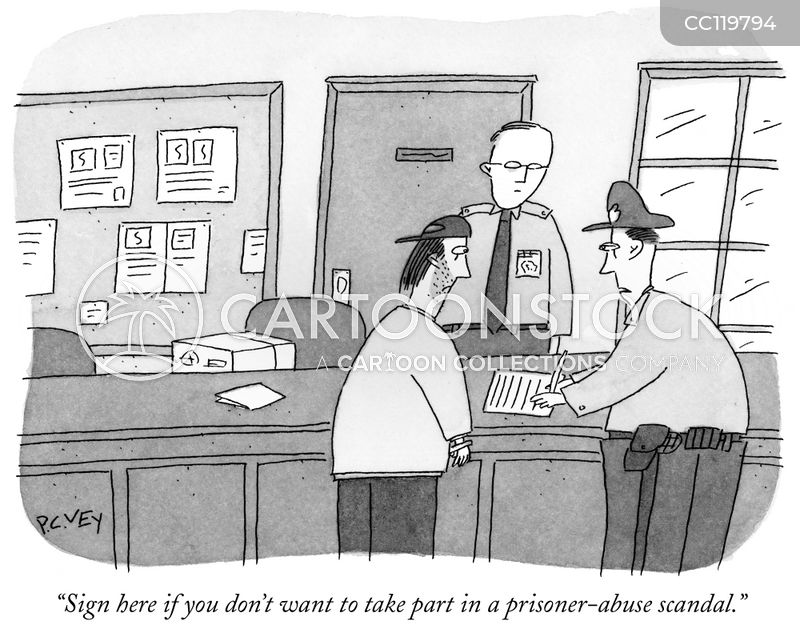 Prisoner-abuse cartoon