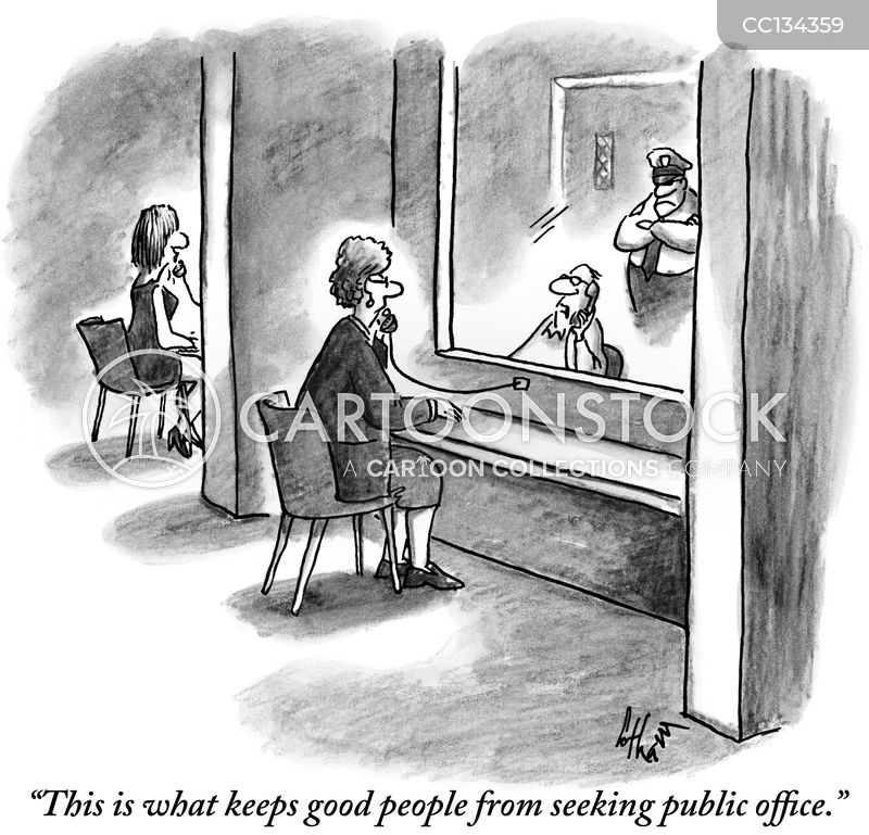 public office cartoon