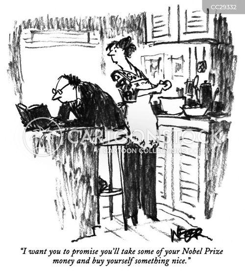 nobel prize cartoon