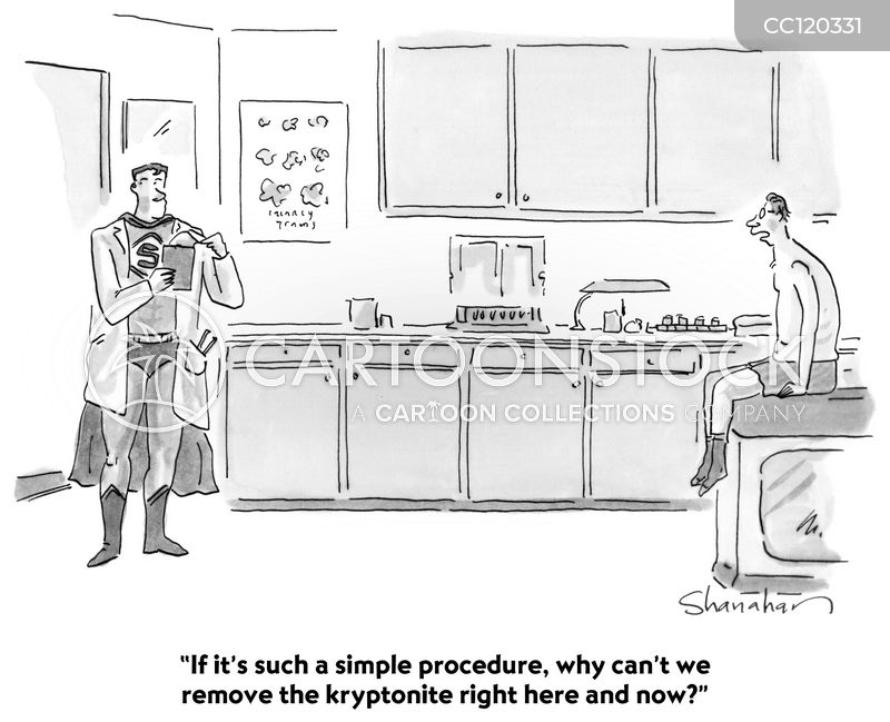 procedure cartoon