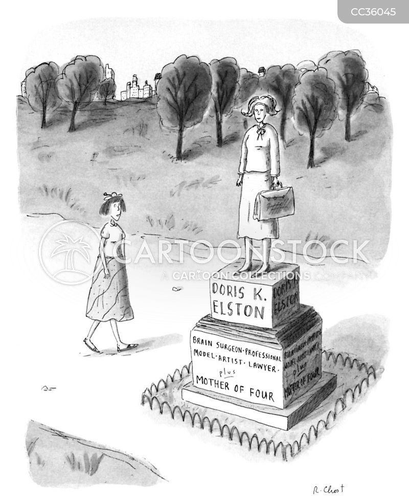 Statues cartoon