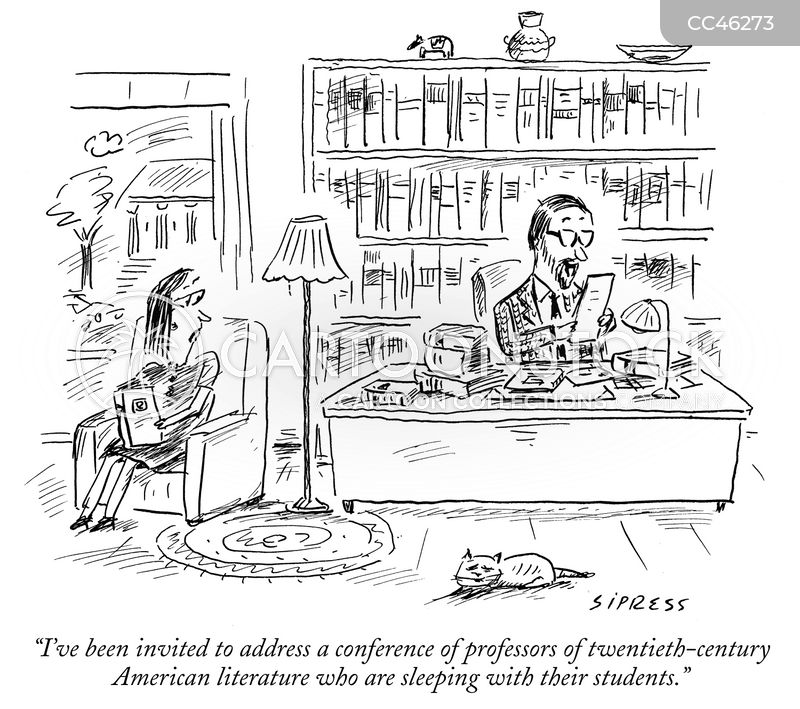 american literature cartoon