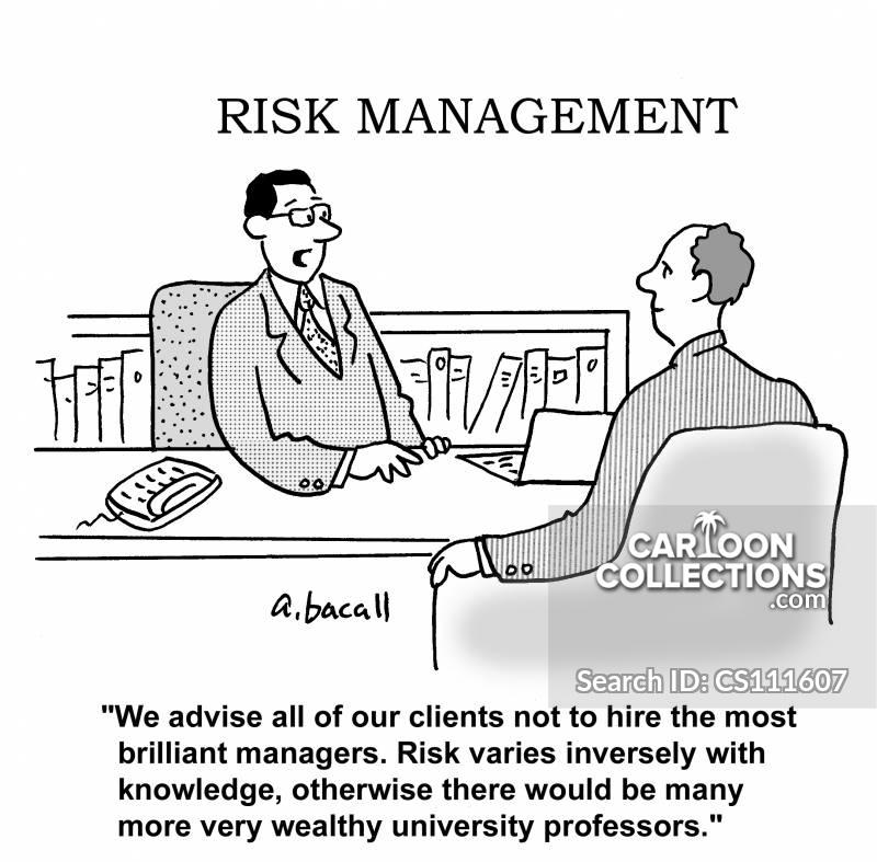 risk managements cartoon