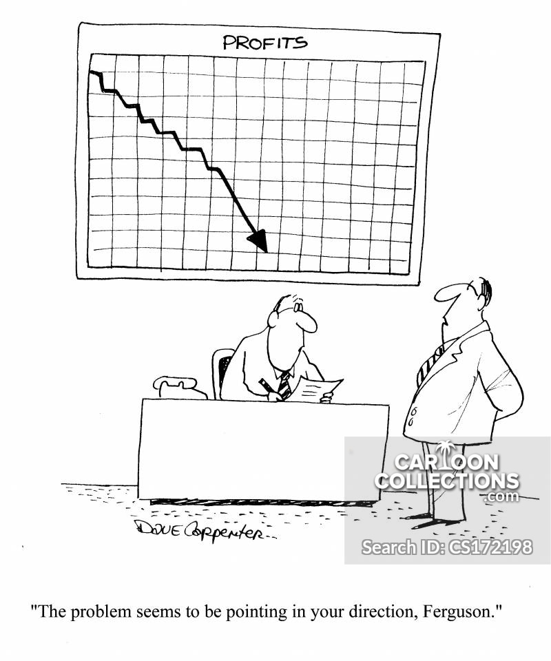 Profit Chart cartoon