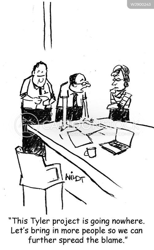 scapegoats cartoon