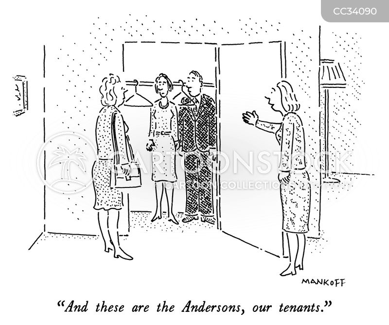 estate agencies cartoon