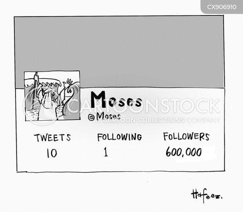 the 10 commandments cartoon