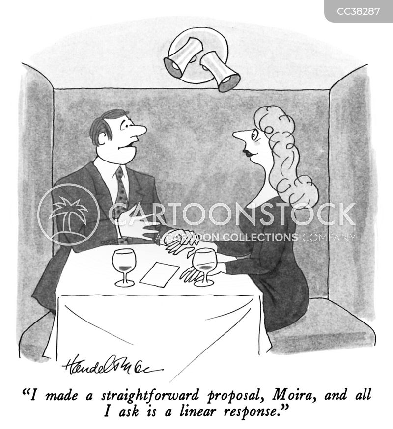 business proposal cartoon