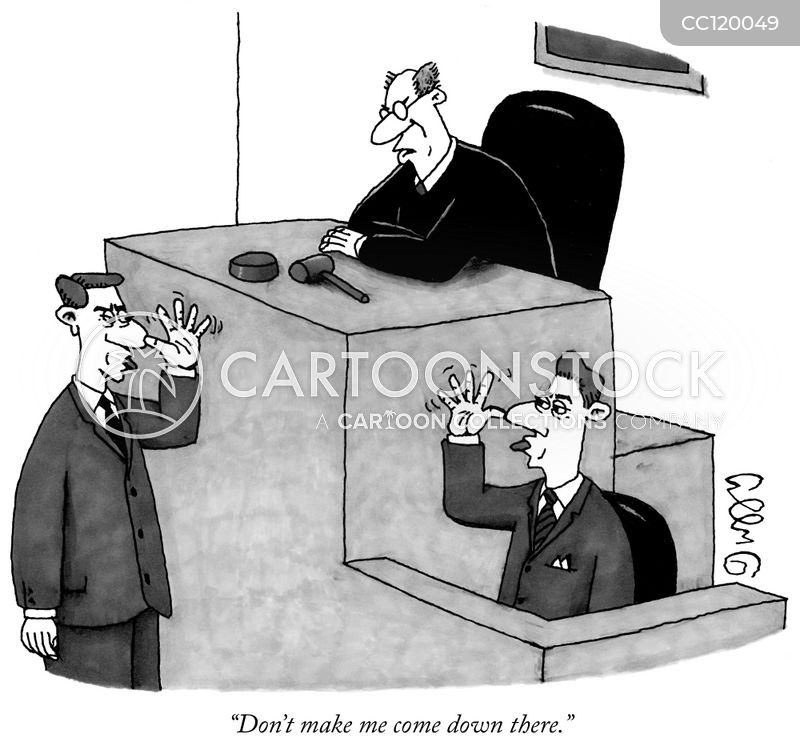 defense attorney cartoon