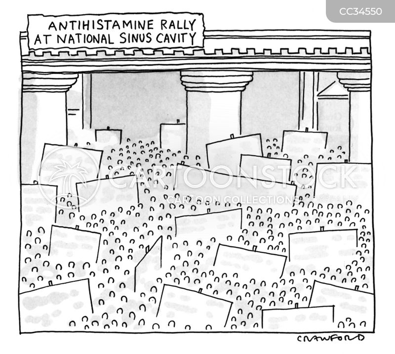 antihistamine cartoon