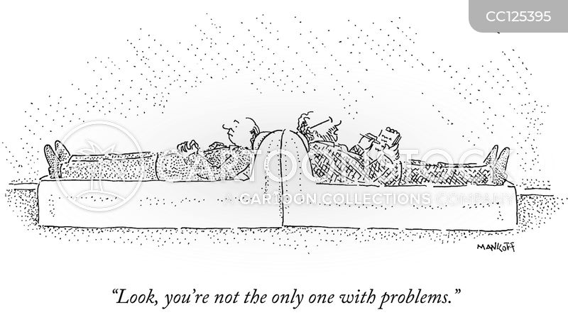 problem cartoon