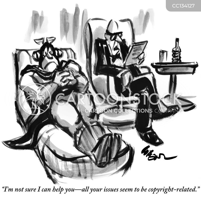 psychologist cartoon