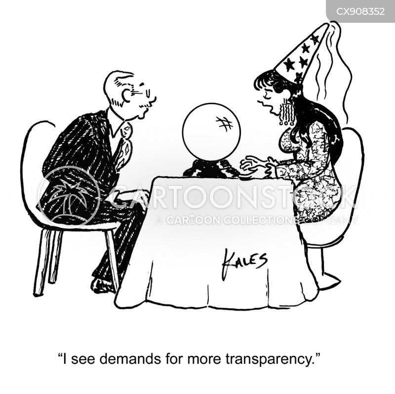 transparency cartoon