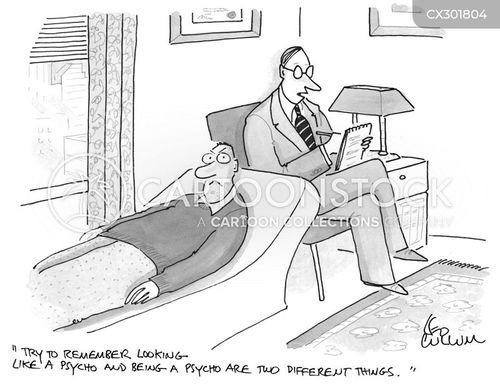 psycho cartoon