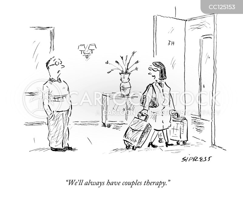 unhappy marriage cartoon