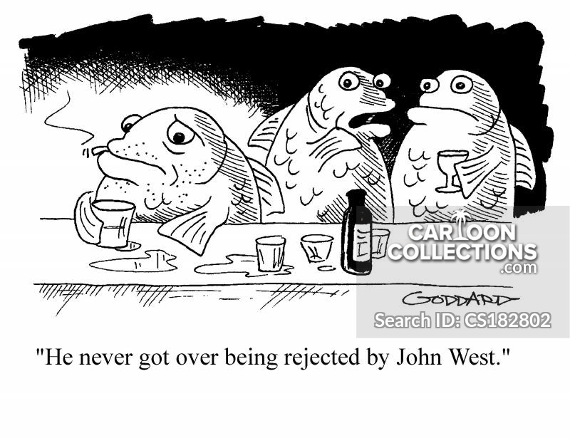 john west cartoon