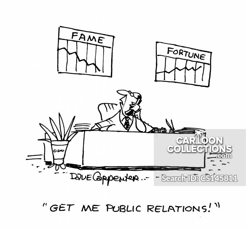 Public Relation cartoon