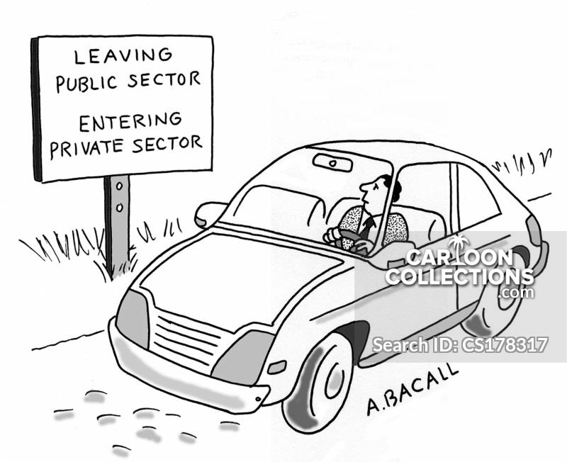 Public Sectors cartoon