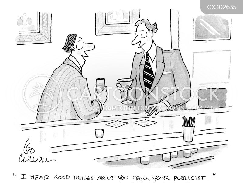 Publicist cartoon