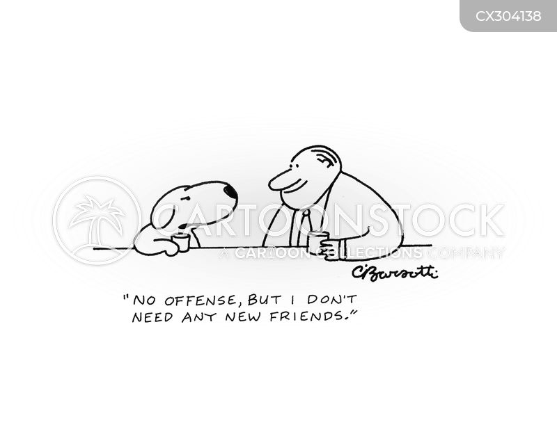 no offence cartoon