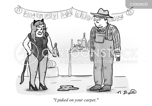 pukes cartoon