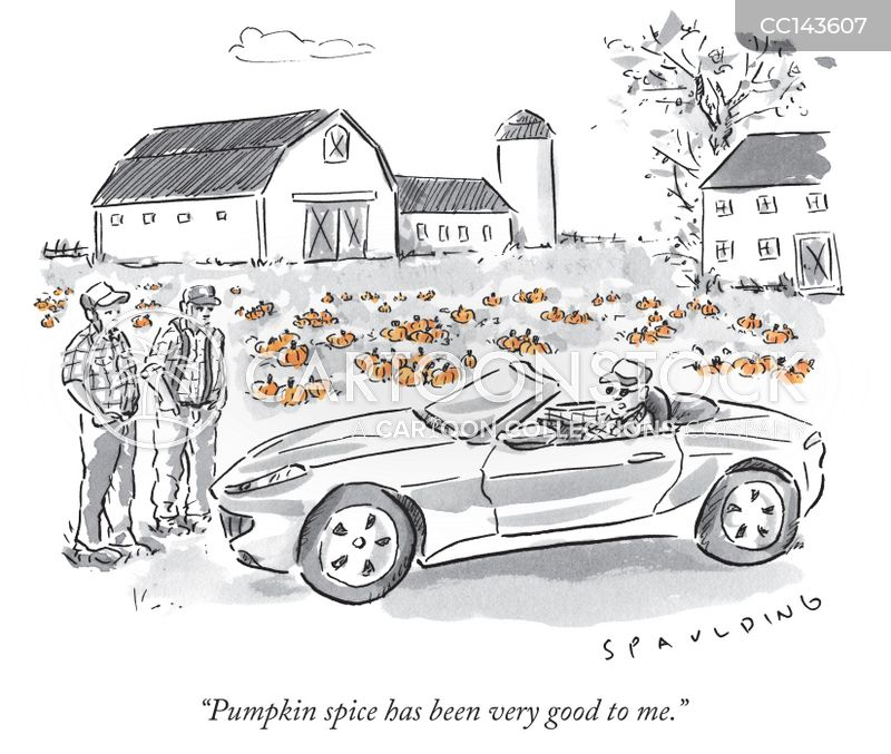Pumpkin Farm cartoon