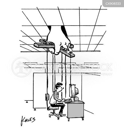 controlled cartoon
