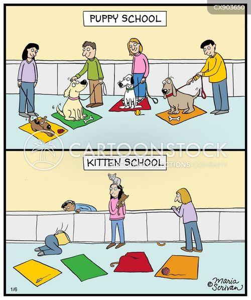 obedient cartoon