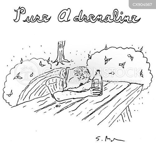 exercising cartoon