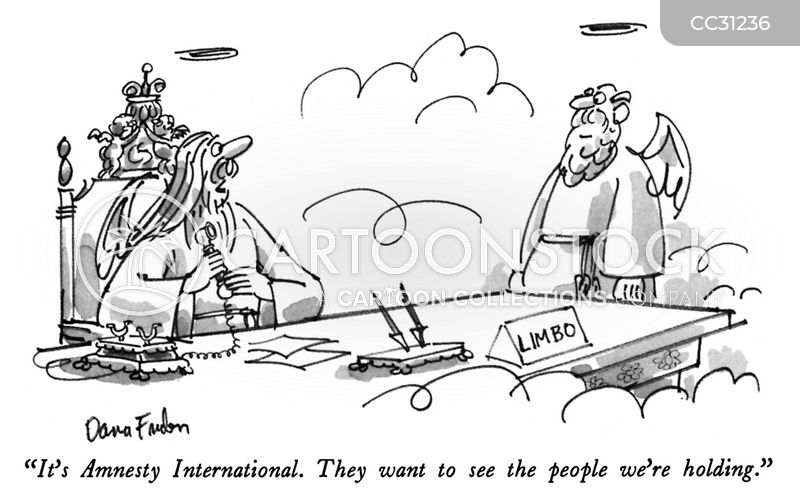 human rights violator cartoon