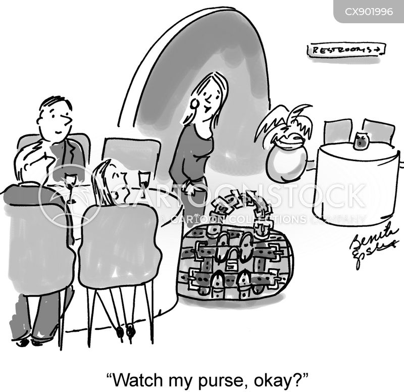 bags cartoon