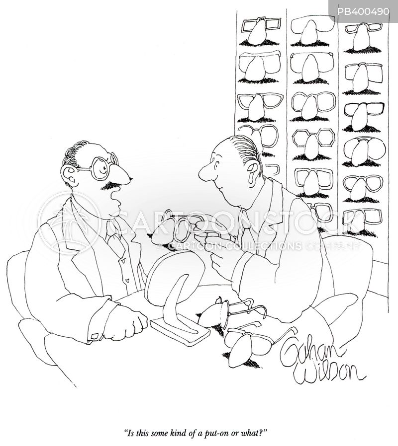 spectacle cartoon