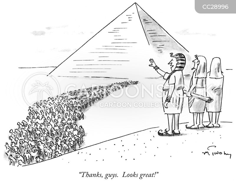 ancient pyramid cartoon