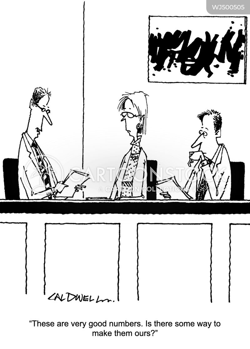 annual reports cartoon