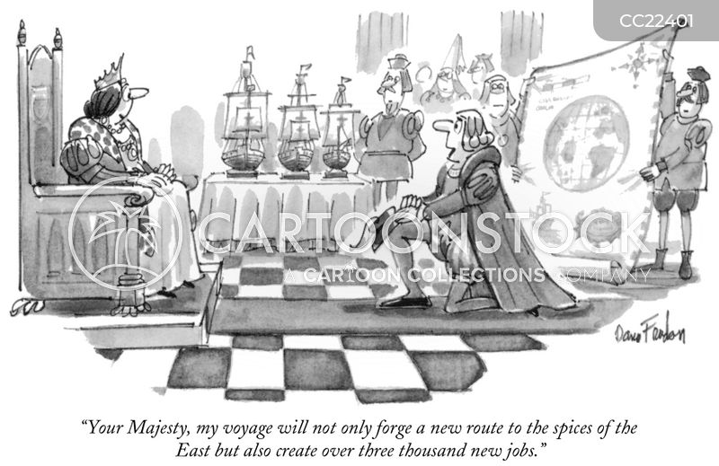 voyage cartoon