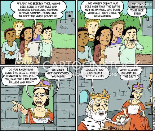 petition cartoon