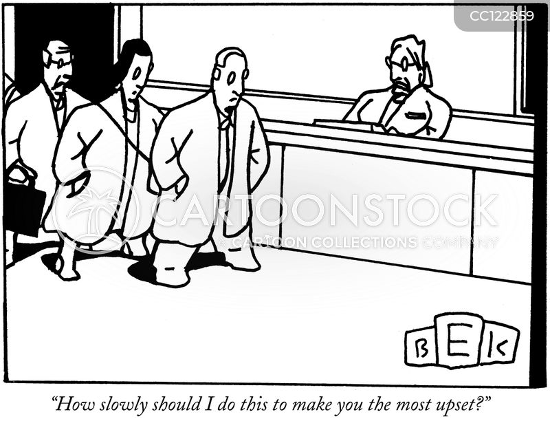 bad customer service cartoon