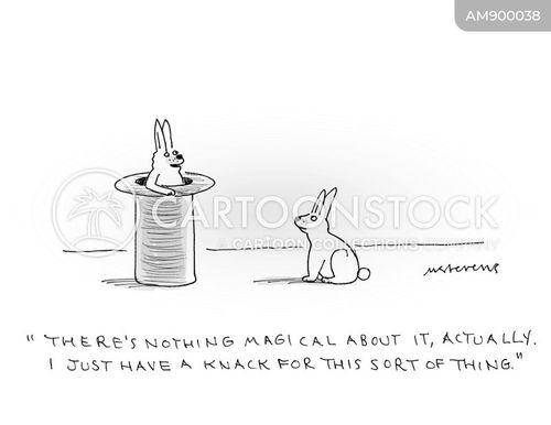skilled cartoon