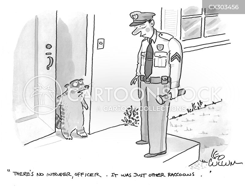intrusions cartoon