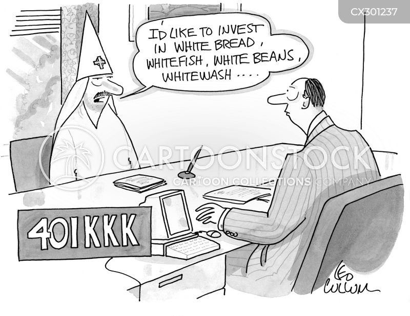 klan cartoon