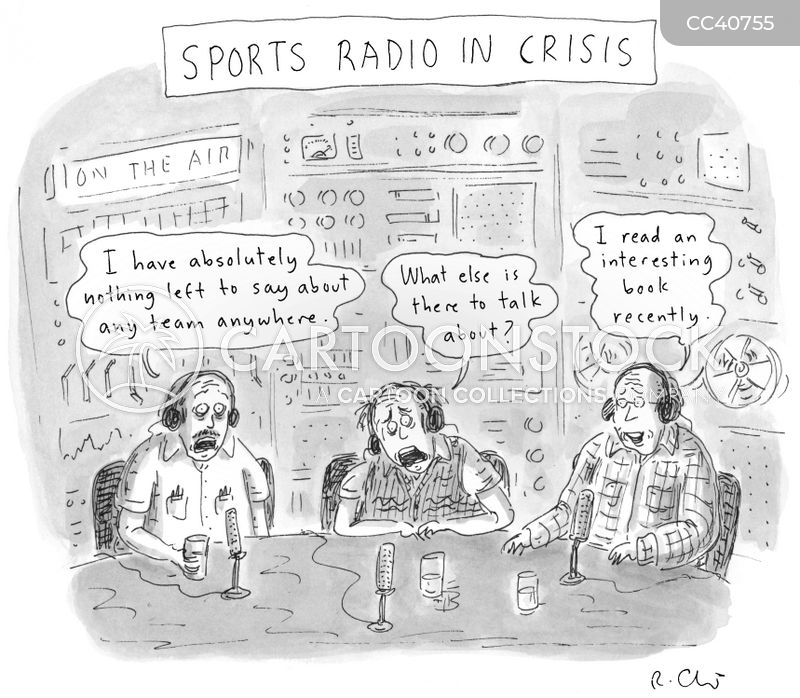 Announcements cartoon