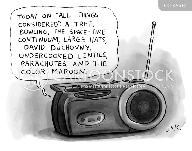 radio shows cartoon