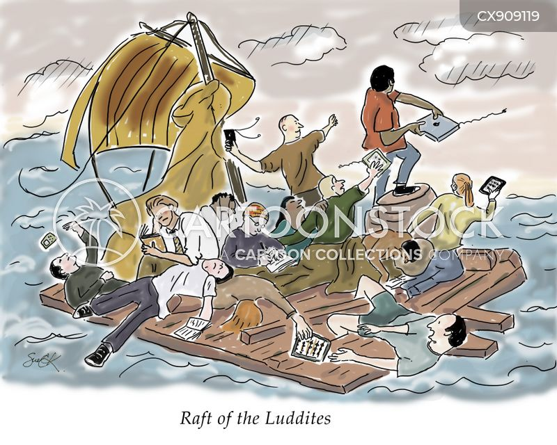 rafts cartoon