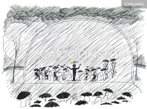 outdoor performance cartoon