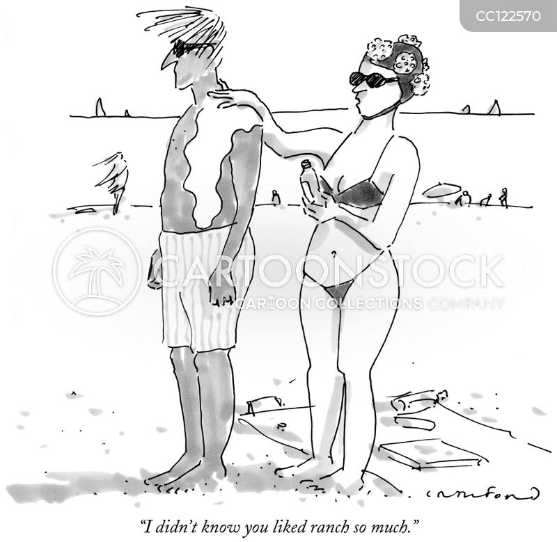 beach holiday cartoon