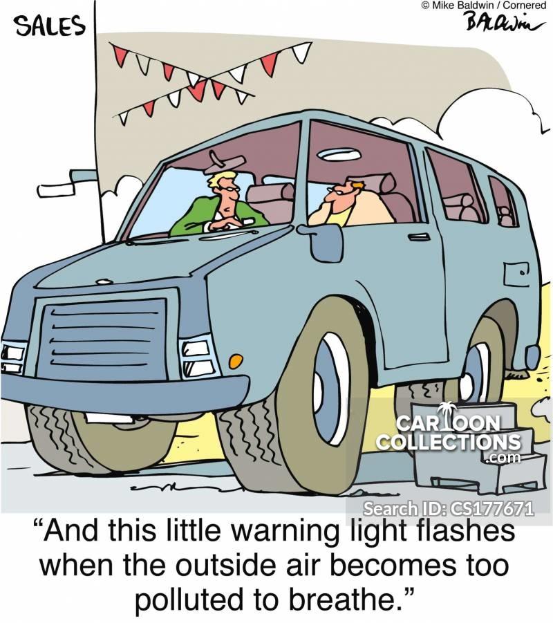 congestions cartoon