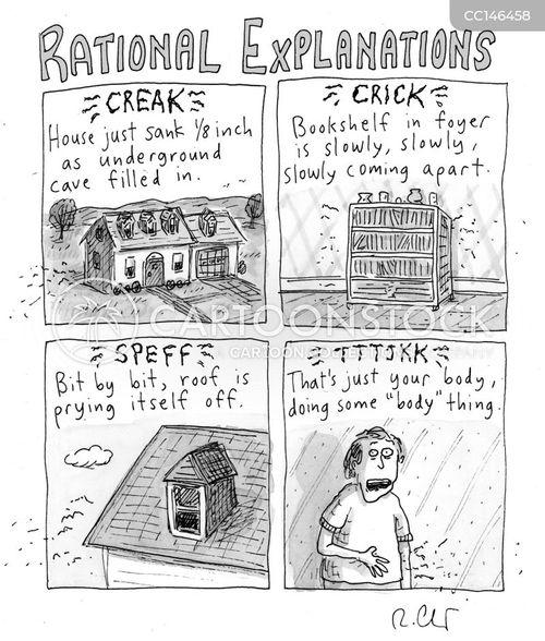 superstitious cartoon
