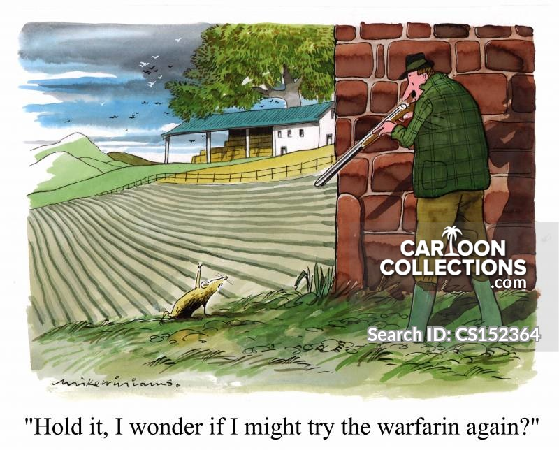 warfarin cartoon