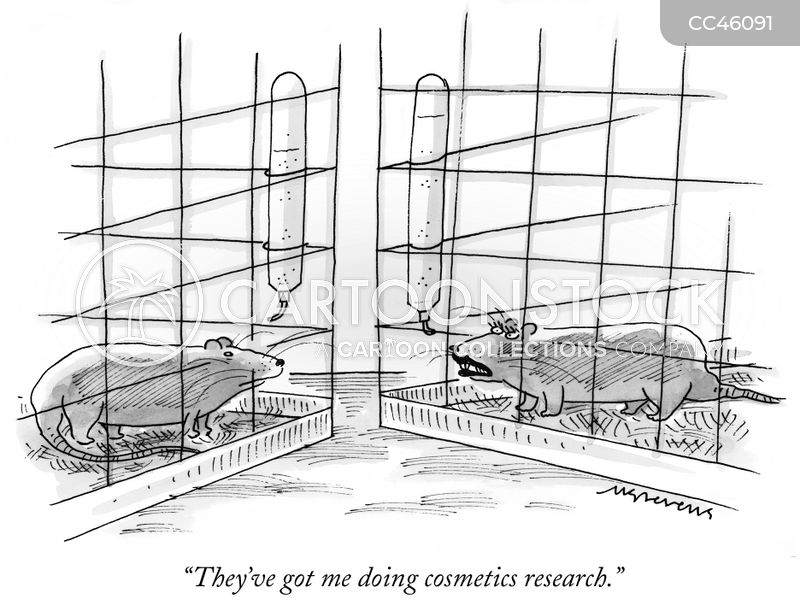 research cartoon