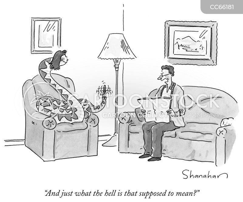 passive aggressiveness cartoon